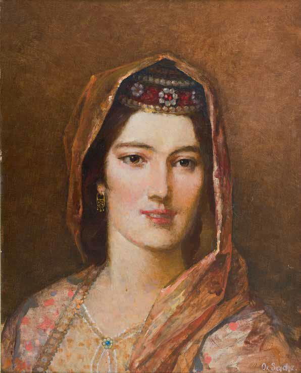 «Портрет азербайджанки», 1994 г., Садыхзаде Октай