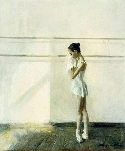 В. Братанюк. Юная танцовщица, 1996