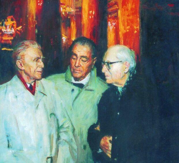 «Дума о России», 1998 г. Василий Братанюк.