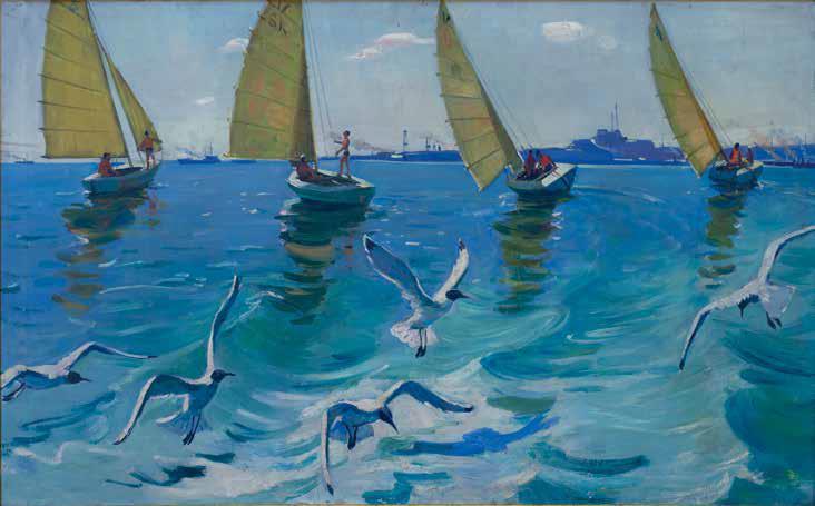 «Регата», 1961 г., Сафарова Халида.