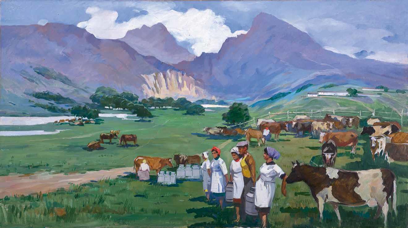 «Доярки», 1963 г. Рзакулиев Эльбай.